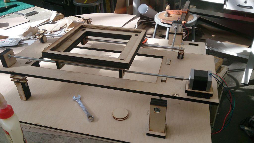 Arduino Quilting Machine