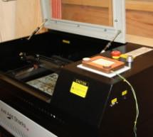 Arduino based Etch A Sketch Laser Cutter