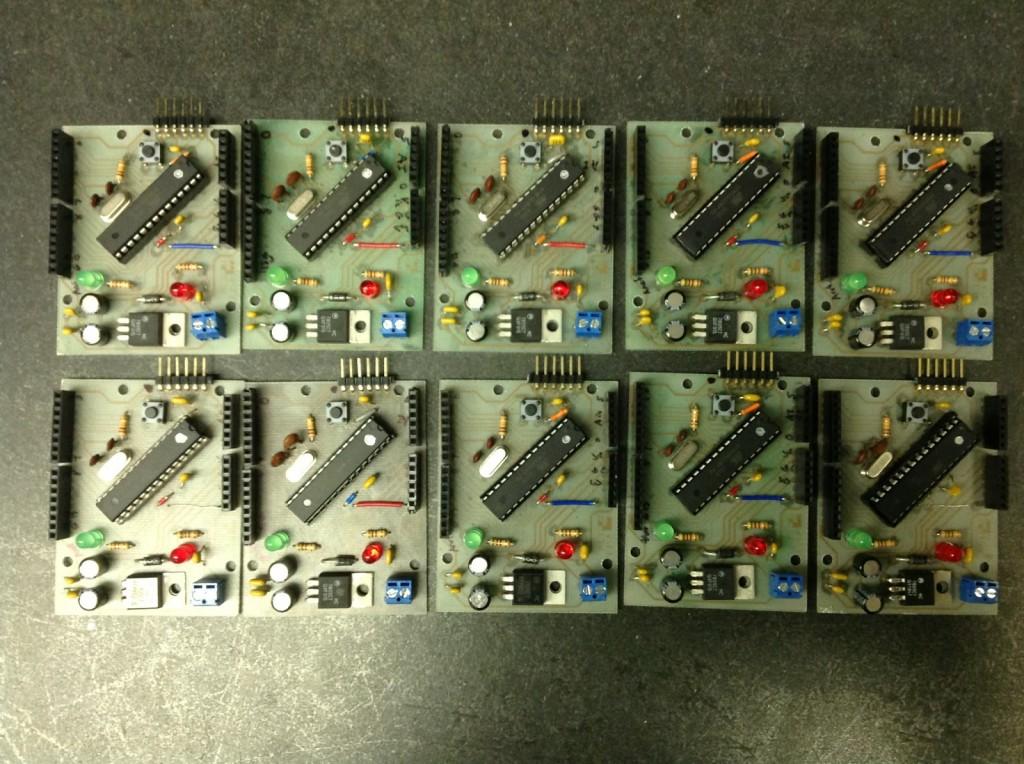 Ayrduino - Single-Sided Arduino Clone
