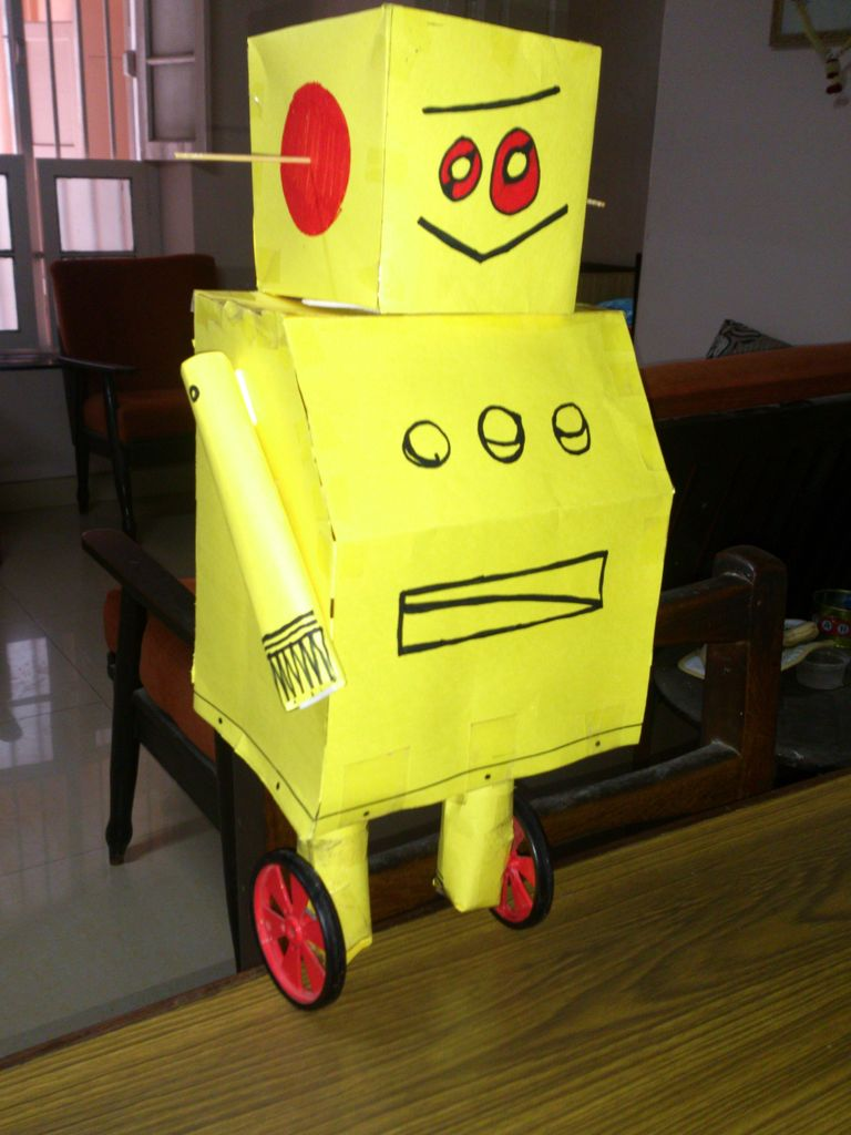Balancing Instructable Robot using arduino