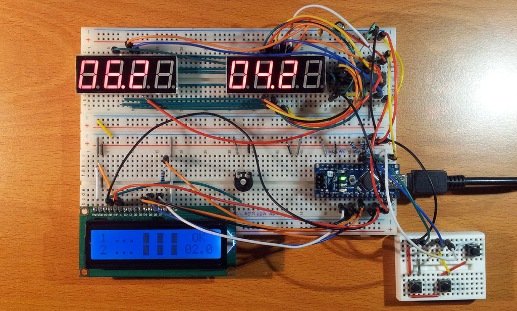 Barista championship brewing stopwatch • Introduction using arduino