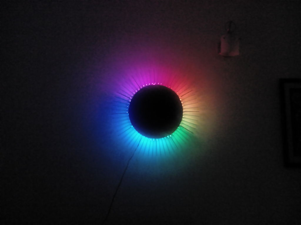 Charliexplexed LED Clock - Arduino