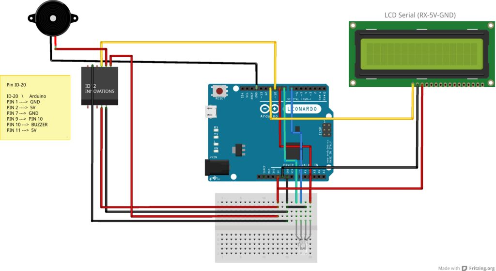 Control Access of Arduino YÚN with MySQL, PHP5 and Python schematic