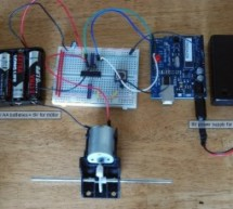 Control a DC motor with Arduino and L293D chip