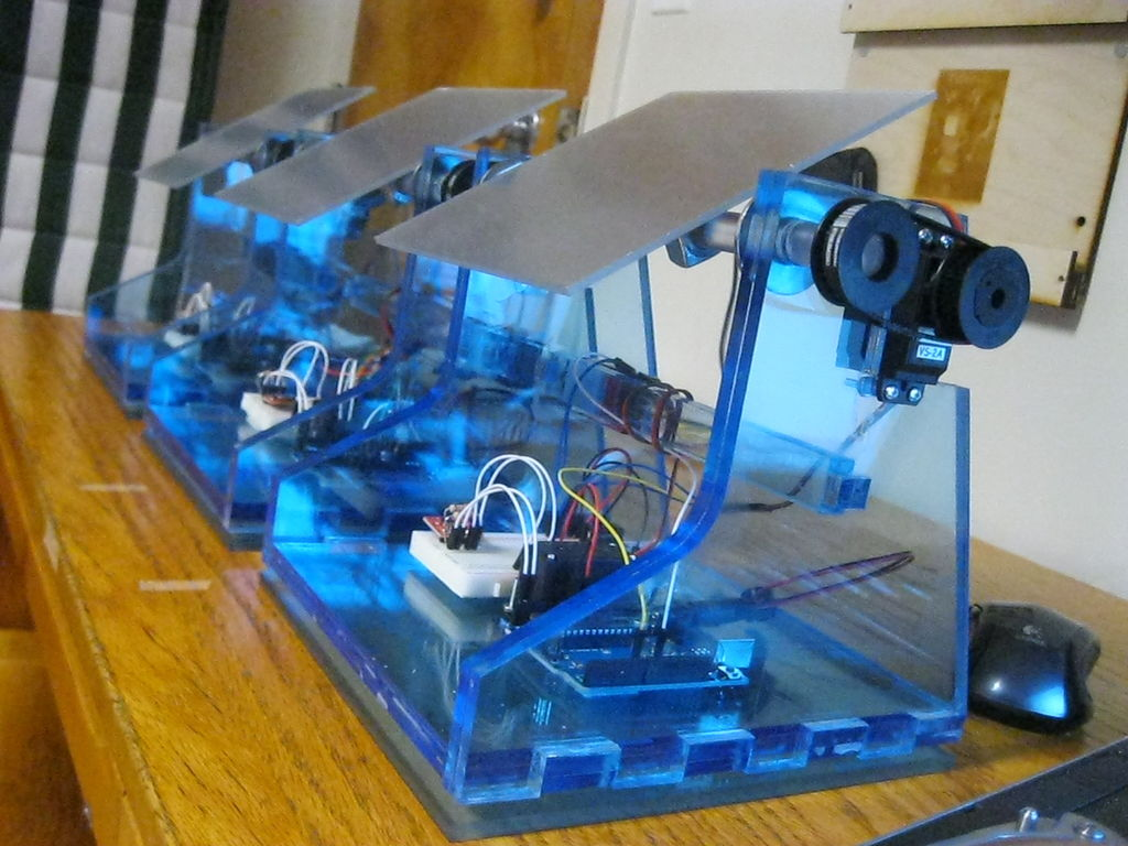 DIY Solar Tracker using Arduino