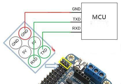 DIY handmade Hexapod with arduino (Hexdrake) circuit