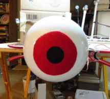 Huge Arduino Animatronic LED Eyeball using arduino