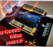 Improved Simple Wing Shield using arduino