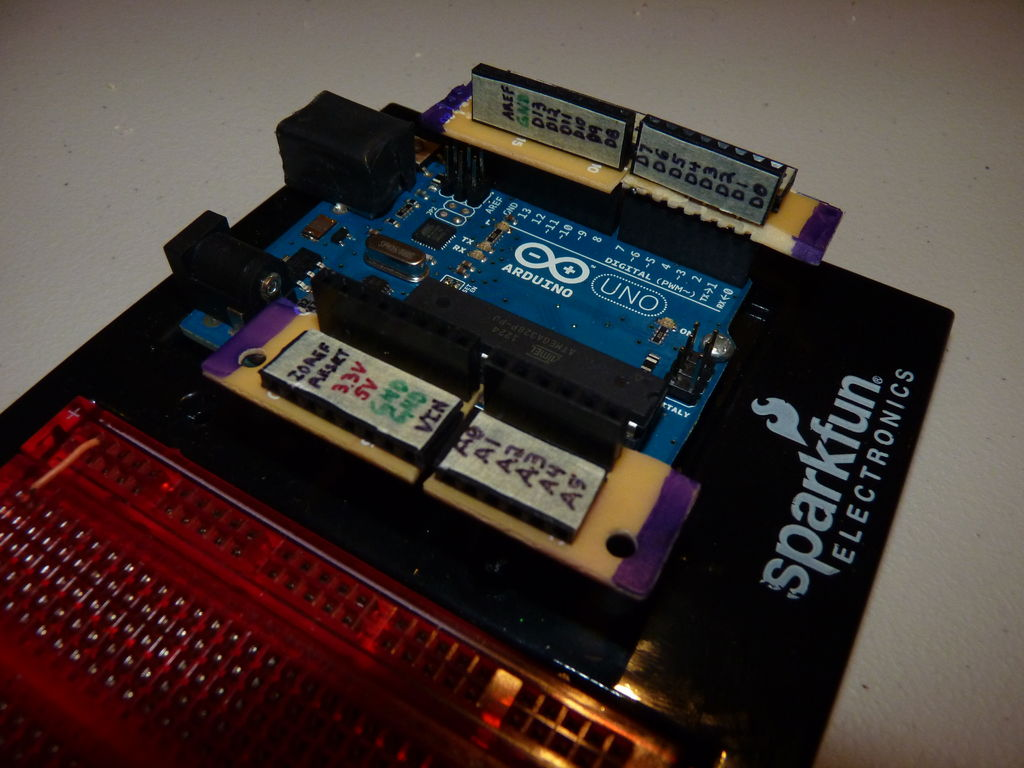 Improved Simple Wing Shield using arduino circuit