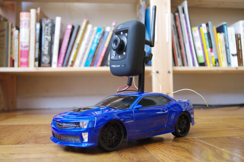 Internet-Controlled RC Car using Arduino