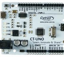 Introducing CT-UNO, Cytron version of Arduino UNO
