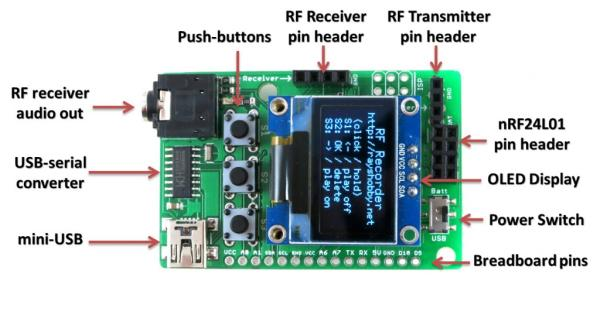 Introducing RFToy, an Arduino-compatible gadget for radio frequency modules