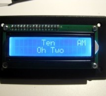 LCD Word Clock using Arduino