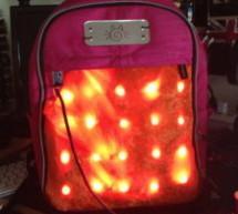 LED Matrix Bike Safety Backpack using arduino