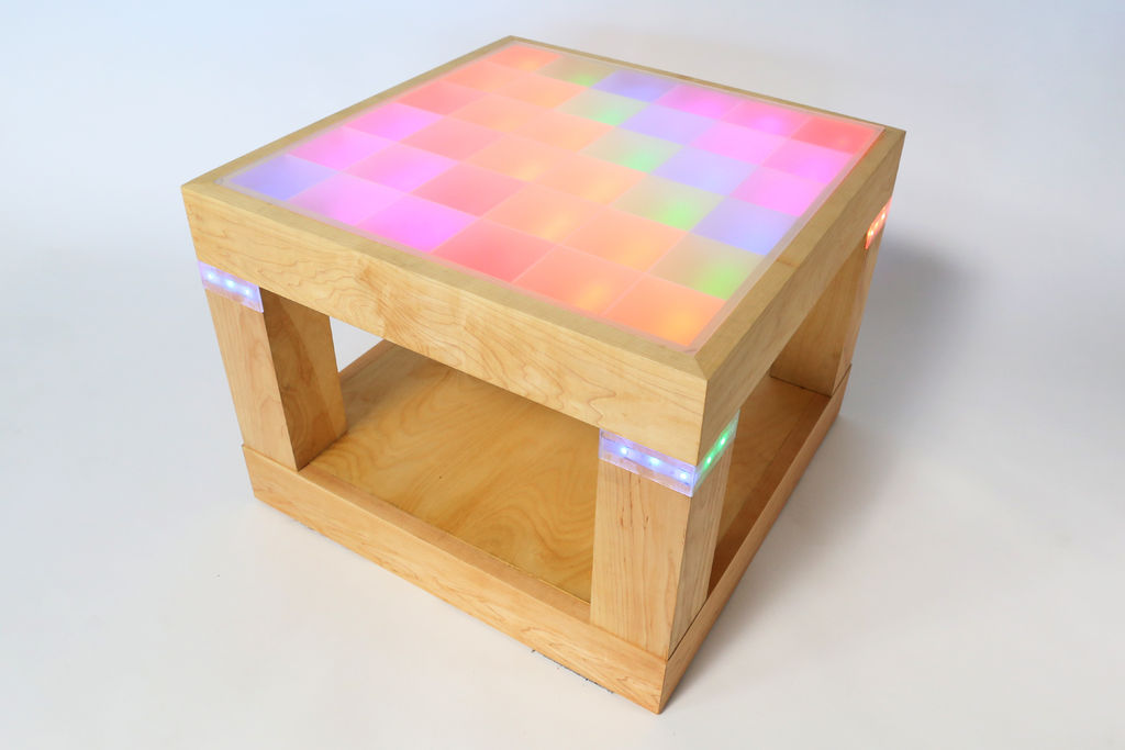 Light-Up Disco Table using Arduino -Use Arduino for Projects