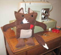 LilyPad Arduino Stuffed Fox Toy