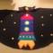 Lilypad Arduino Rocket Ship Cape