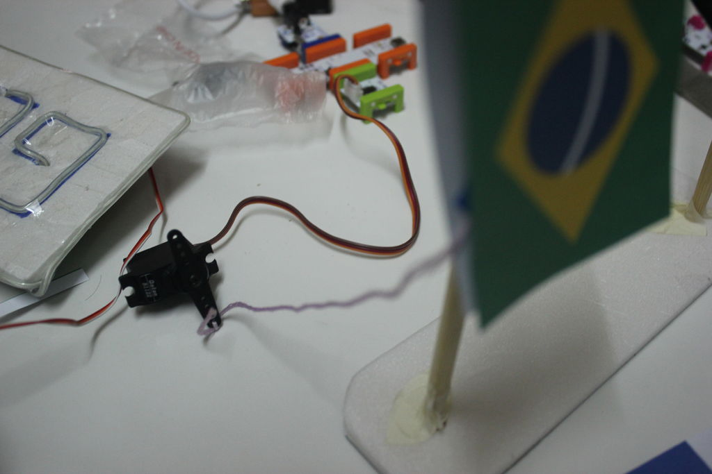 LittleGoal - World Cup Match Notifier using Arduino circuit