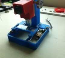 Low cost digital microscope with automated slide movement using arduino