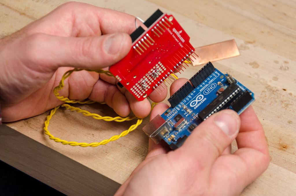 Make a Musical Bench using Arduino circuit