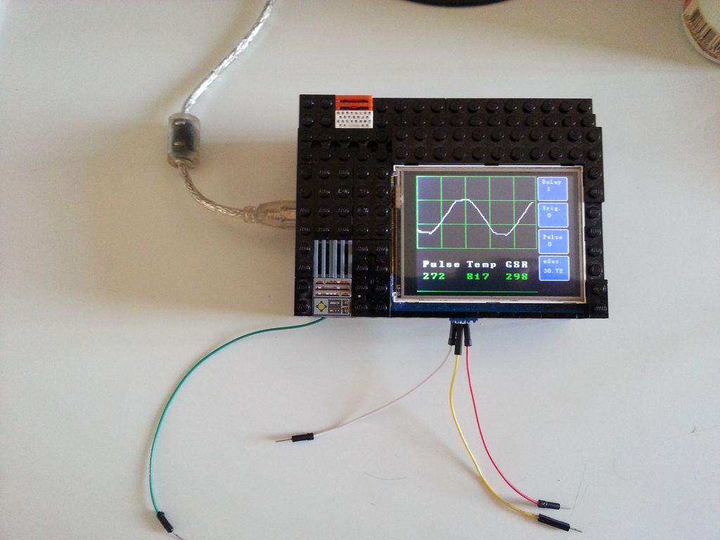 Make an Oscilloscope Using the SainSmart Mega2560 with the TFT LCD