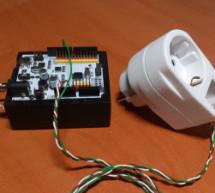 Microcontrolled AC switch using arduino