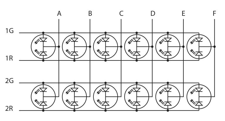 Network-status indicator circuit