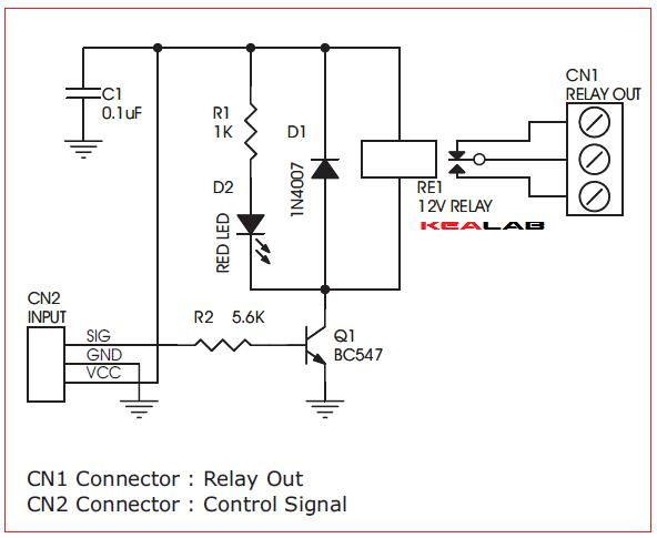 One Channel Relay Driver