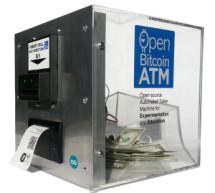 Open Bitcoin ATM using arduino