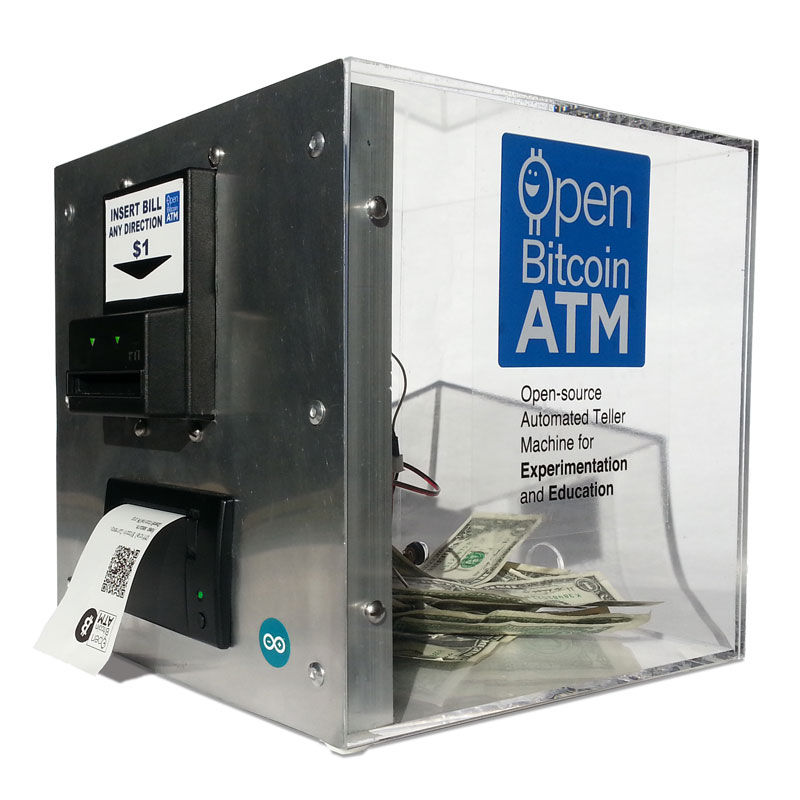 Open Bitcoin ATM using arduino