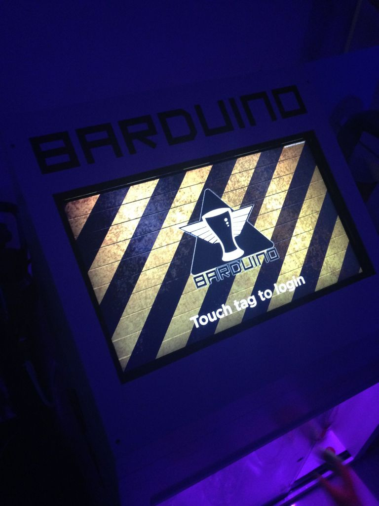 RFID touch screen Automated Bar - Barduino v2.0 with Facebook Integration!