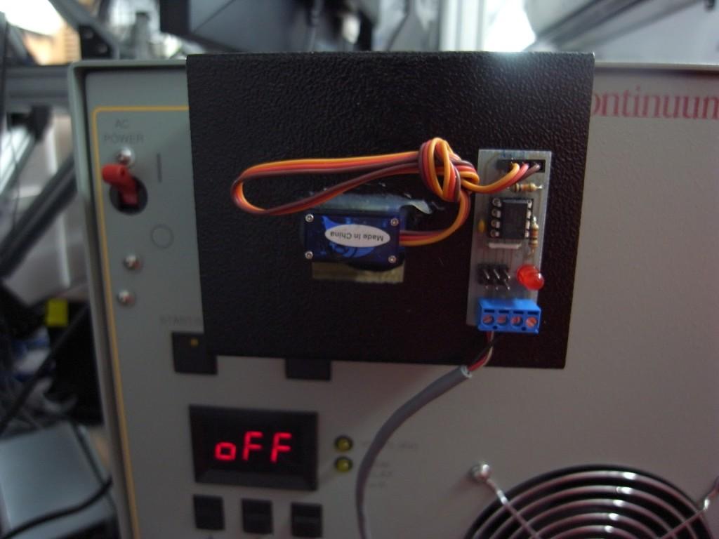 Remote key-switch operation