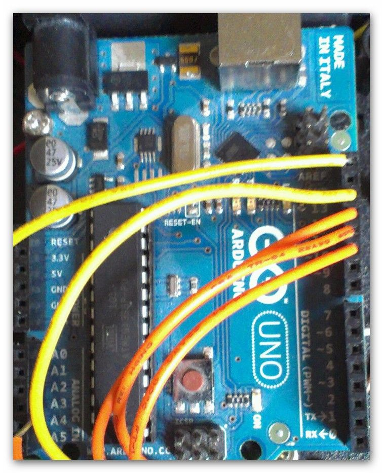 Scratch 4 Arduino and Cybot Control (Rover basics) circuit