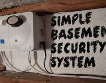 Simple Basement Security System using Arduino