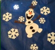Singing Olaf Bag (Frozen)