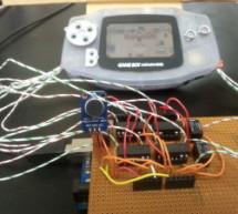 Speech-controlled Game Boy Advance using arduino