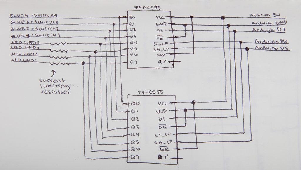 sugarcube midi controller schematic