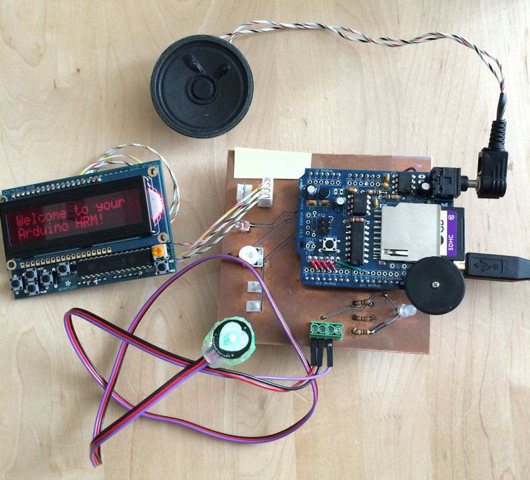 Talking Arduino Heart Rate Monitor