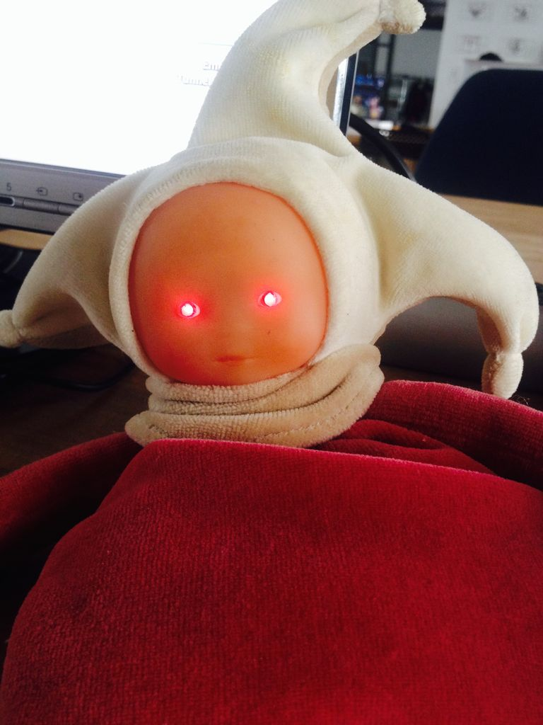 The Creepy Doll using Arduino