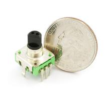 Using a quadrature encoder (rotary switch) with Arduino