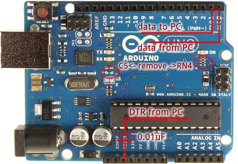 Arduino Uno – Programming With A Serial Port