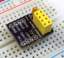 Breadboard adapter for ESP8266 module