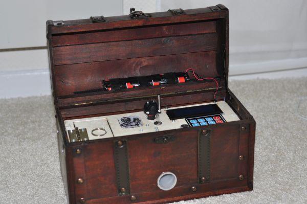 Captain Herrmano's Mystery Box – a Reverse Geocache
