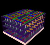 Researchers combine logic, memory to build a 'high-rise' chip