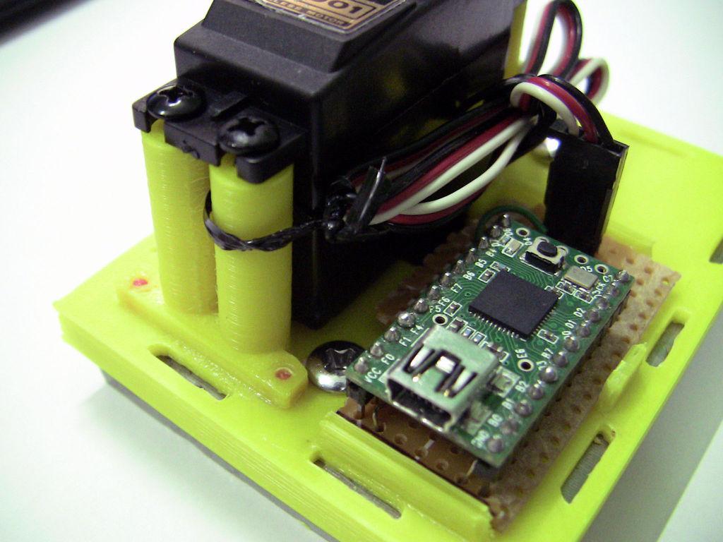 3D Printed Webcam Controller circuit