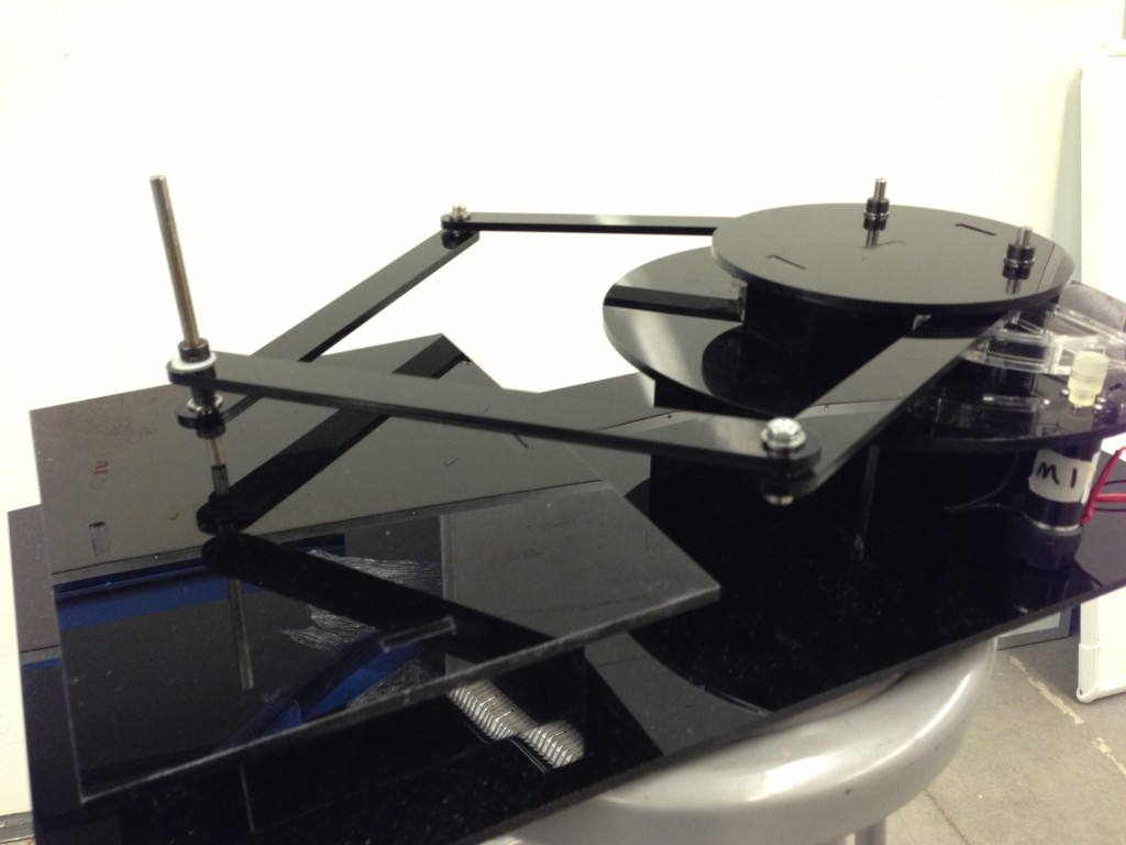 A Planar 2-DOF Haptic Device for Exploring Gravitational Fields