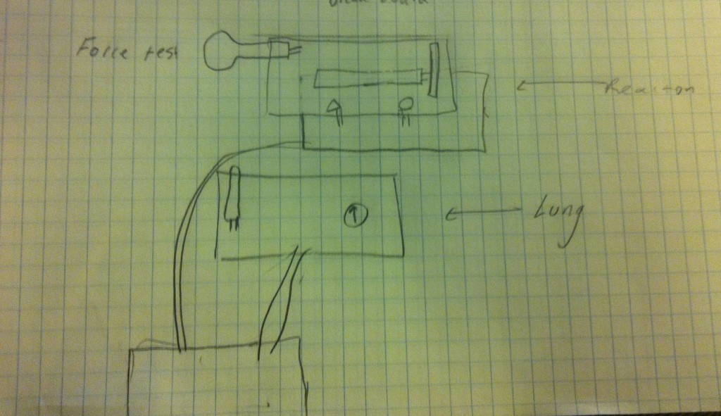 Ambient Etch-a-Sketch circuit