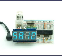 Arduino Based Temp and Humidity Display