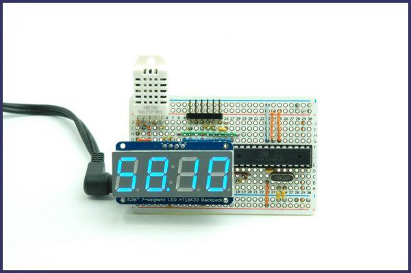 Arduino Based Temp and Humidity Display