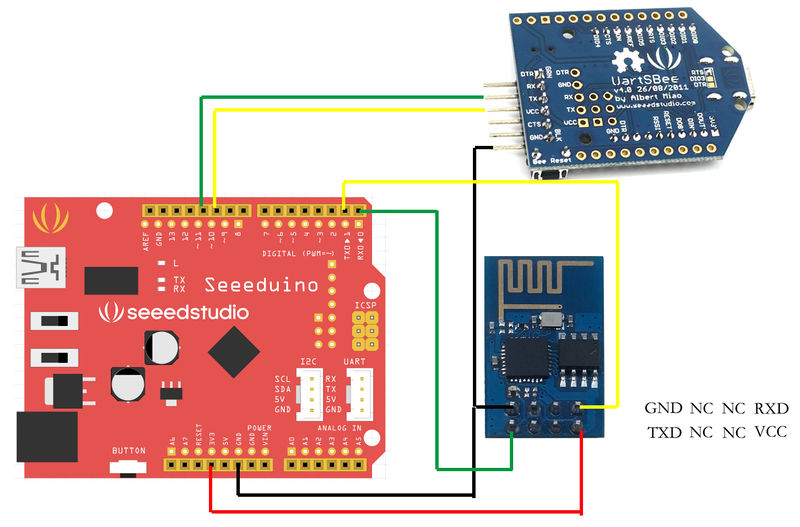 Arduino Basic Wifi Project using ESP8266 wifi module